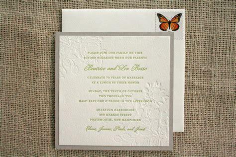 celebrate it wedding invitations 70th wedding anniversary invitations