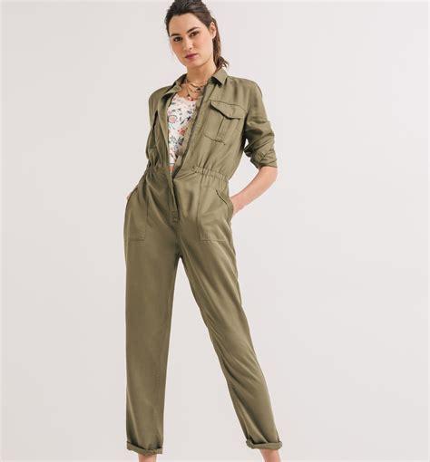 Yuleta Set Overal 2 overall khaki damen overalls jumpsuits promod