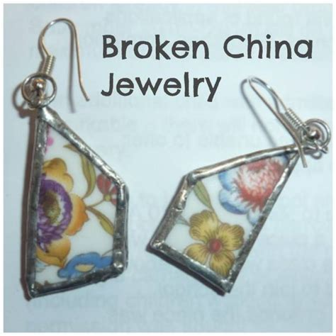 how to make jewelry from broken china jewelry tutorial from broken china