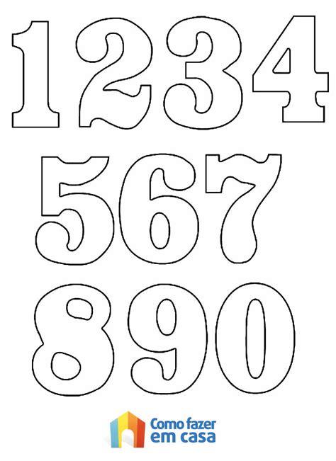 plantillas de numeros para imprimir confira as melhores dicas de moldes de n 250 meros para
