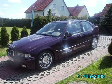 Bmw 316i Compact Tieferlegen by Bmw E36 316i Compact 3er Bmw E36 Quot Compact Quot Tuning