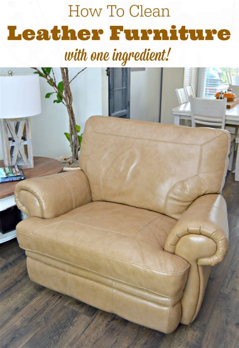 how to clean a recliner chair how to clean leather furniture naturally mom 4 real