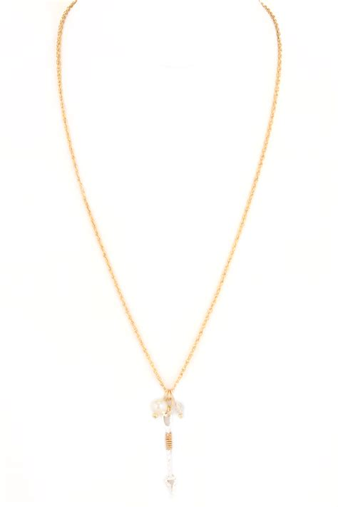 Cutout Pendant cutout pendant pearl necklace necklaces