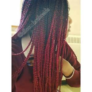 burgundy braiding hair 1000 ideas about burgundy box braids on pinterest box