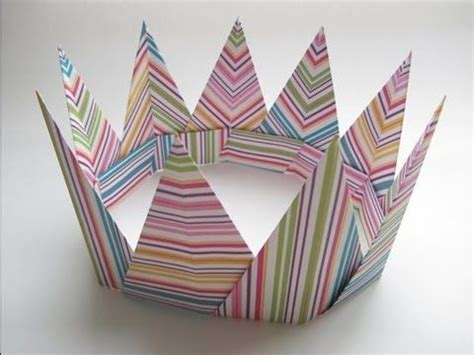 Papercraft Crown - the king or of your castle will learning