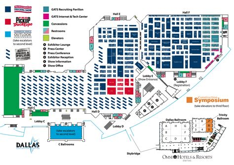 dallas convention center floor plan the great american truck show checklist raney s blog