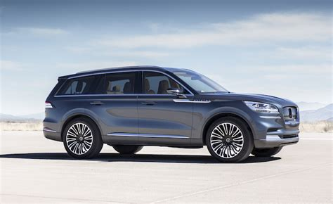 New Lincoln Concept by New Lincoln Aviator Concept Previews V6 Hybrid Suv