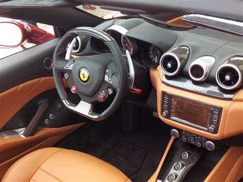 ferrari j50 interior first impression of the new ferrari california t