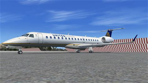 Interior Textures by United Express Embraer Erj 145xr For Fsx