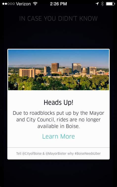 Uber Background Check Says Consider Idaho Lawmakers Consider Bill To Write Uber Style Services Into Boise State