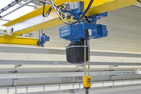 Hoist Crane M Up To 80 Ton demag dcs pro chain hoist