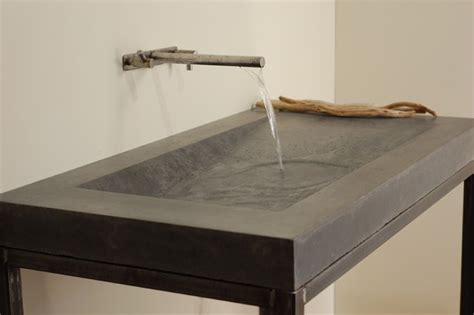 concrete bathroom sinks concrete alpine sink modern bathroom sinks miami