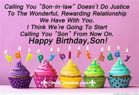 in law happy birthday to son in law smitcreation com