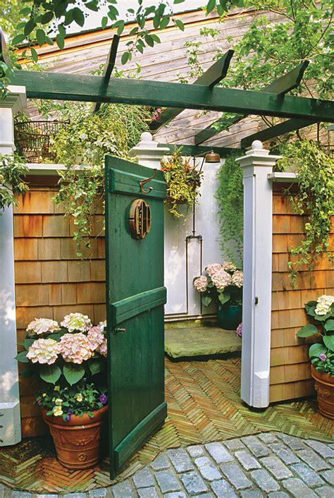 fresh air outdoor bath showers for beach houses coastal