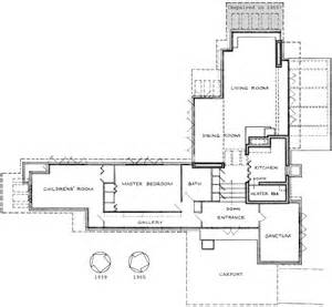 Pope Leighey House Floor Plan frank lloyd wright