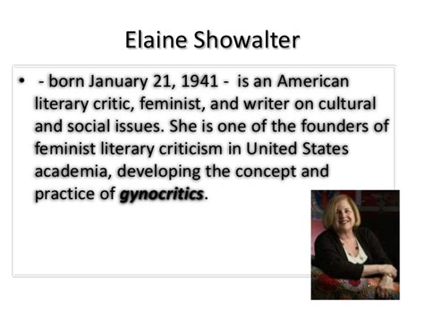Lit Is A Feminist Issue by Feminism Feminist Criticism Elaine Showalter
