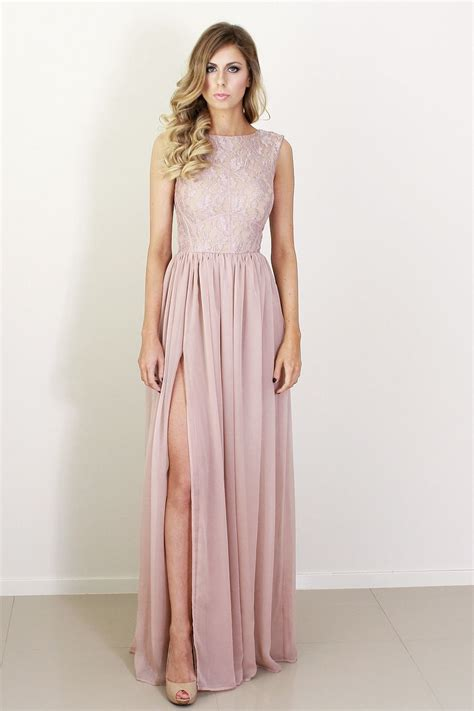 Lace Bridesmaid Dress by Blush Silk And Lace Bridesmaid Dress Onewed