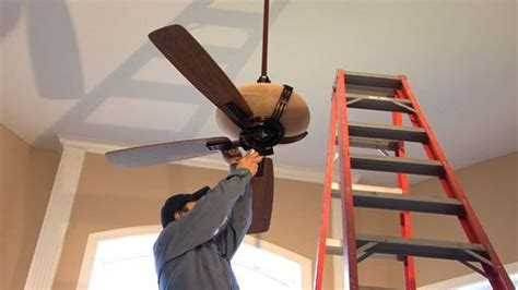 ceiling fan installation installing the bracket