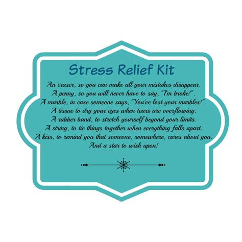 Stress Relief diy stress relief kit yee wittle things