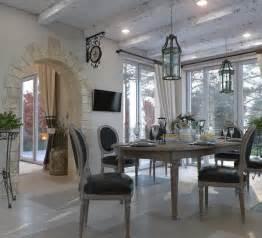 design salle 224 manger de style cagne et rustique