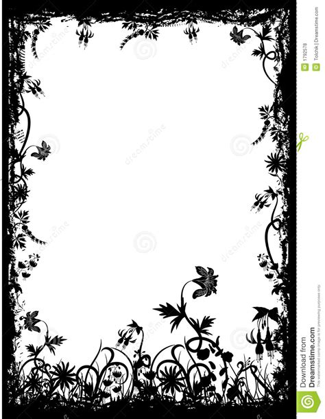 grunge flower frame royalty free stock image image 3187236 floral grunge frame vector stock vector illustration of illustration 1792578