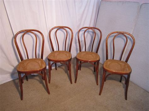bentwood bistro chairs uk set of 4 bistro or cafe bentwood chairs antiques