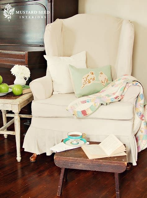 Video Slipcover Tutorial Series Part 3 Wing Chair Reveal