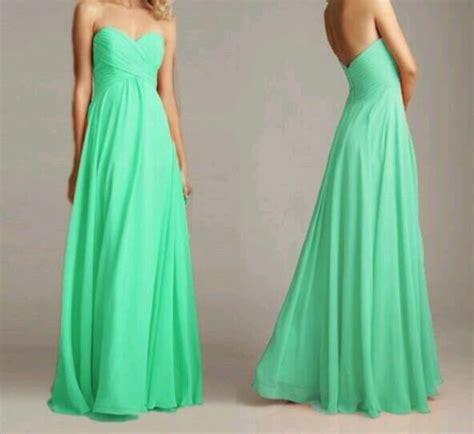 light green long dress dress light green mint green light green strapless prom