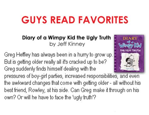 diary of the wimpy kid book report the uglies character summary