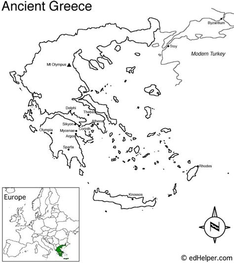 Historical Outline Map 7 Ancient Greece Answers 17 best images about ancient greece unit on hercules greece and oliver