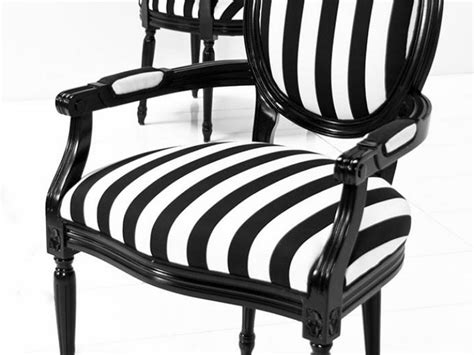 Black And White Striped Dining Chair Black And White Striped Dining Chairs Home Design Ideas