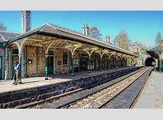 Knaresborough Railway Station   Opened in 1848 as part of ... J