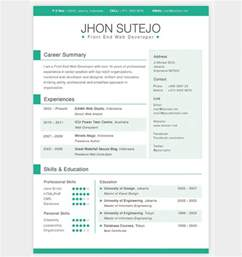 Free Html Resume Template by Professional Resume Template On Resume Template Free Apptemplate Org