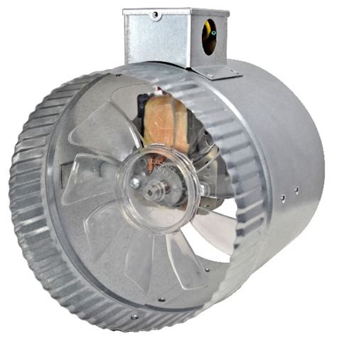 hvac duct fan central air central air booster fans