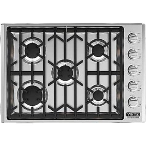viking cooktops viking vgsu5305bss 30 quot gas cooktop