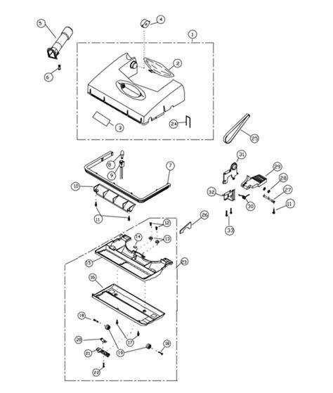riccar vacuum parts diagram riccar r200 parts vacuum repair diagrams