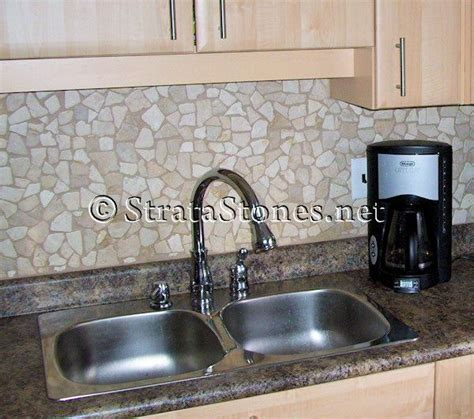 quartz mosaic tile kitchen backsplash picture