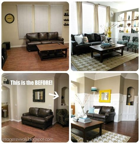 before and after living room makeovers hailee before and after home pinterest