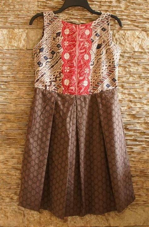Batik Sabrina Dress 121 best dress batik images on indonesia