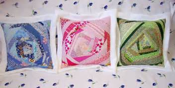 Different Patchwork Techniques - tutorial how to make a patchwork quilt cushion