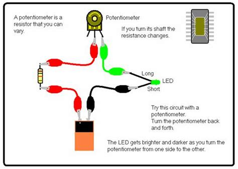 resistor in parallel with potentiometer science for school home