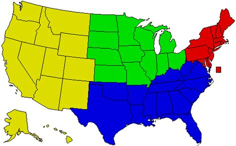 map of america divided into regions dividing the us into regions