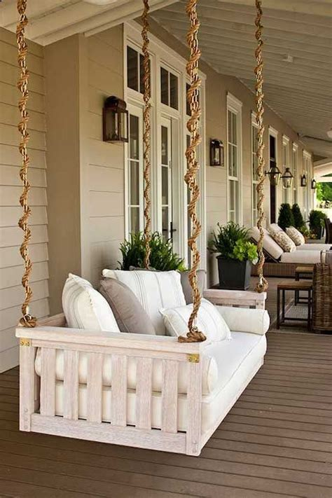 rope for porch swing porch swing love the rope to disguise the chain ikea