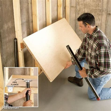 easy garage space saving ideas   garage diy