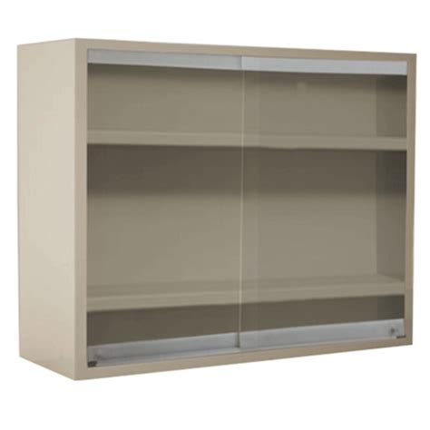Cole Parmer Wall Cabinet With Glass Sliding Doors 36x30x12 Wall Cabinet Sliding Doors