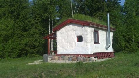 Little Cabin Plans Tiny Cob House With Living Roof In An Eco Village Tiny