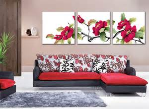 canvas for room coast rhododendron flower painting canvas pictures