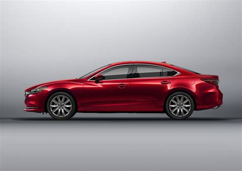 mazda m6 2018 mazda6 updated with more premium interior engine