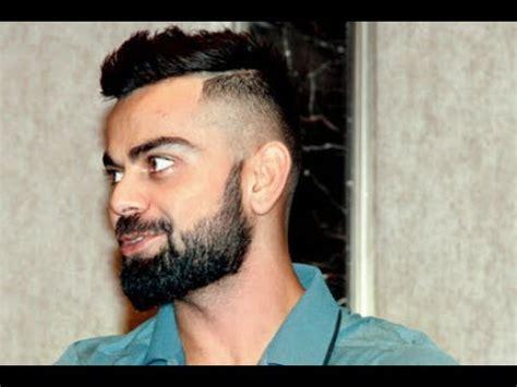 virat latest beard style imagea 2017 virat kohli flaunts new hairstyle haircut beard style