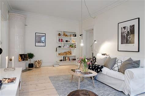 appartement einrichtungsideen salones n 243 rdicos con chimenea decoraci 243 n de interiores y